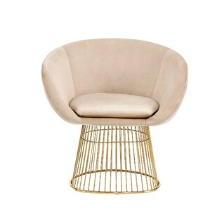 Arthur Barrel Chair by Everly Quinn
