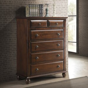 Lehigh 6 Drawer Chest by Darby Home Co