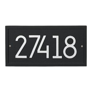 aecfdd8b8f8 Modern   Contemporary Address Plaques   Signs You ll Love