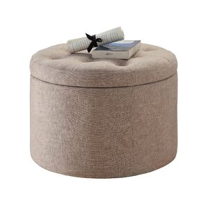 Laurel Foundry Modern Farmhouse Stansell Round Shoe Ottoman Image