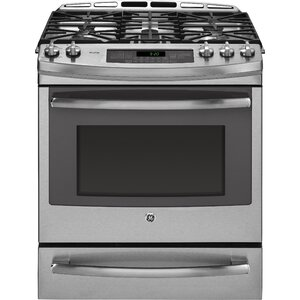 30″ Slide-in Dual Fuel Range with Griddle