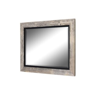 Hilde Traditional Beveled Bathroom Mirror