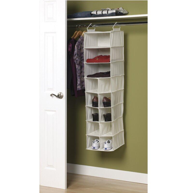 Superior Hanging Closet Shoe Organizer Part - 13: 13-Compartment Hanging Shoe Organizer