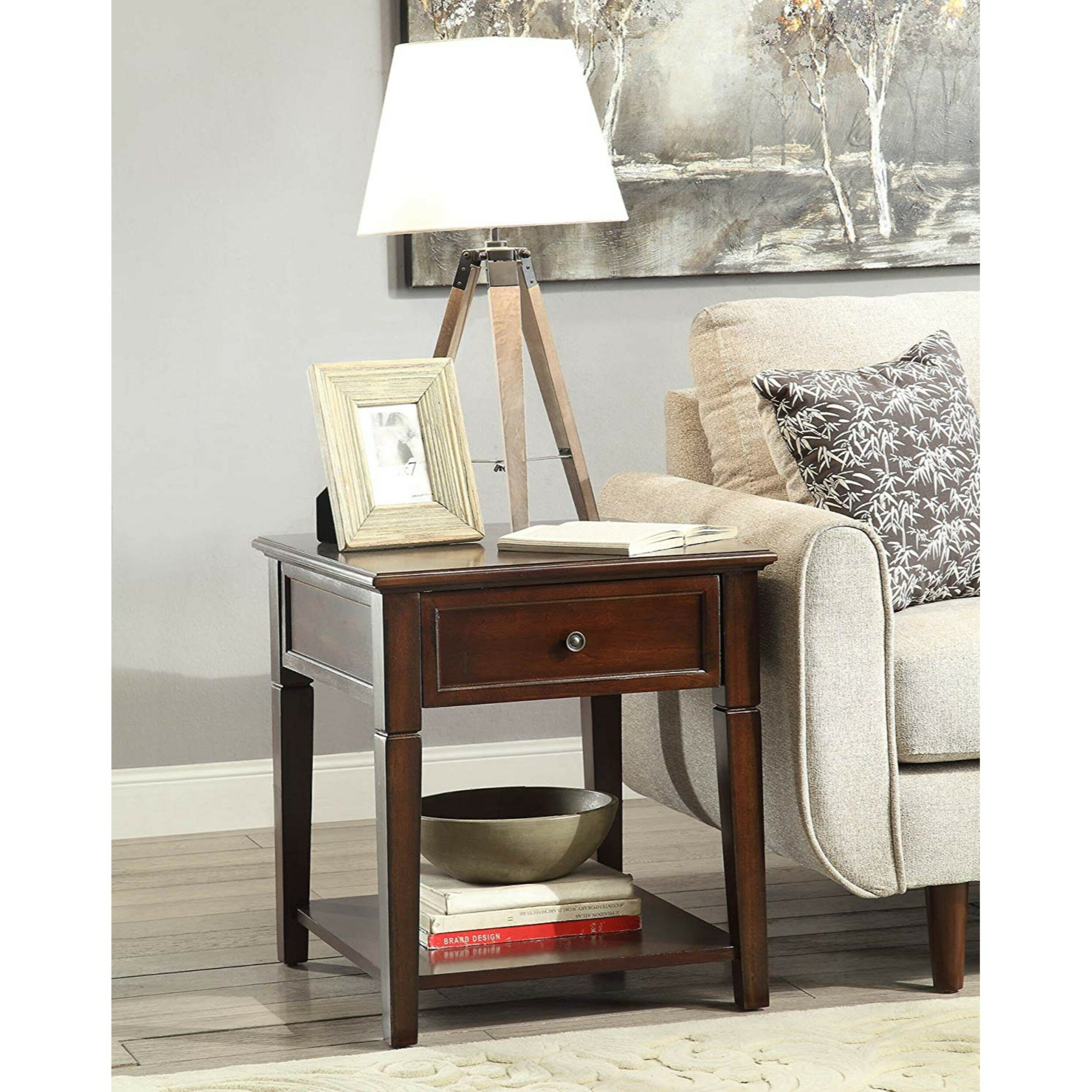 Torin Wooden End Table