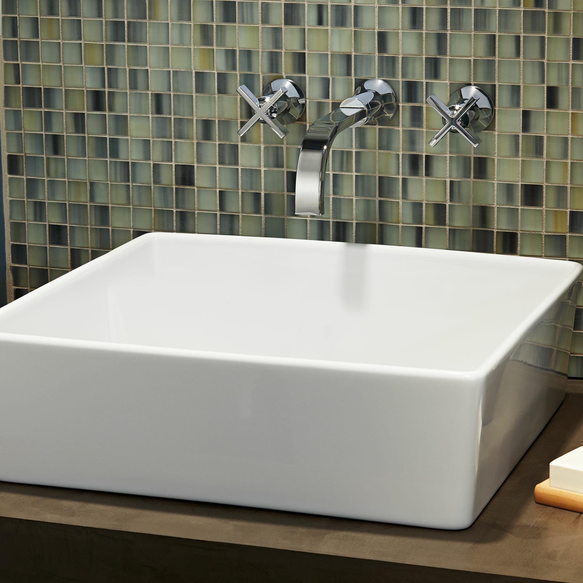 Swell Loft Rectangular Vessel Bathroom Sink Interior Design Ideas Gentotryabchikinfo