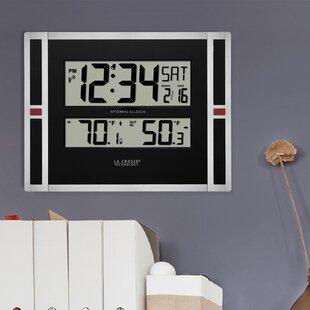 Digital Clock With Temperature | Wayfair