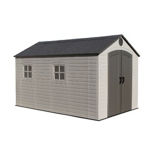 w x 12 ft 5 in d plastic storage shed