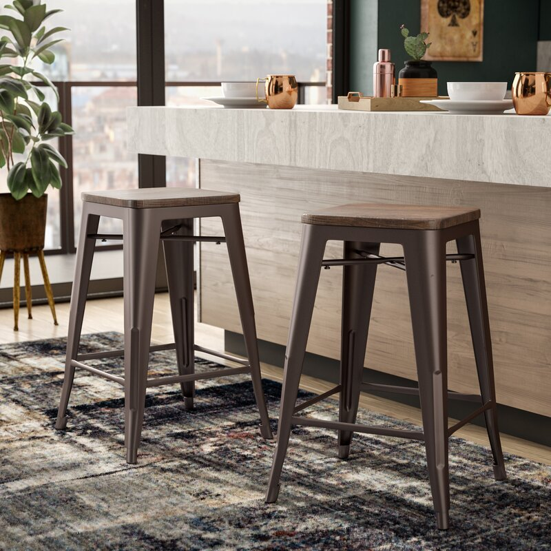Trent Austin Design Corvus 24 Quot Bar Stool Amp Reviews Wayfair