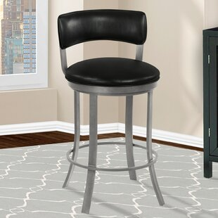 Mcvey Bar & Counter Swivel Stool Wonderful