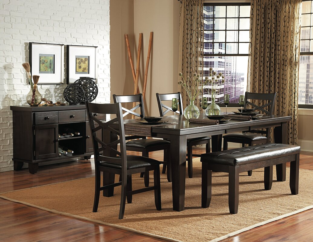 woodhaven hill hawn 6 piece dining set reviews wayfair 6 piece kitchen dining room sets sku he5819