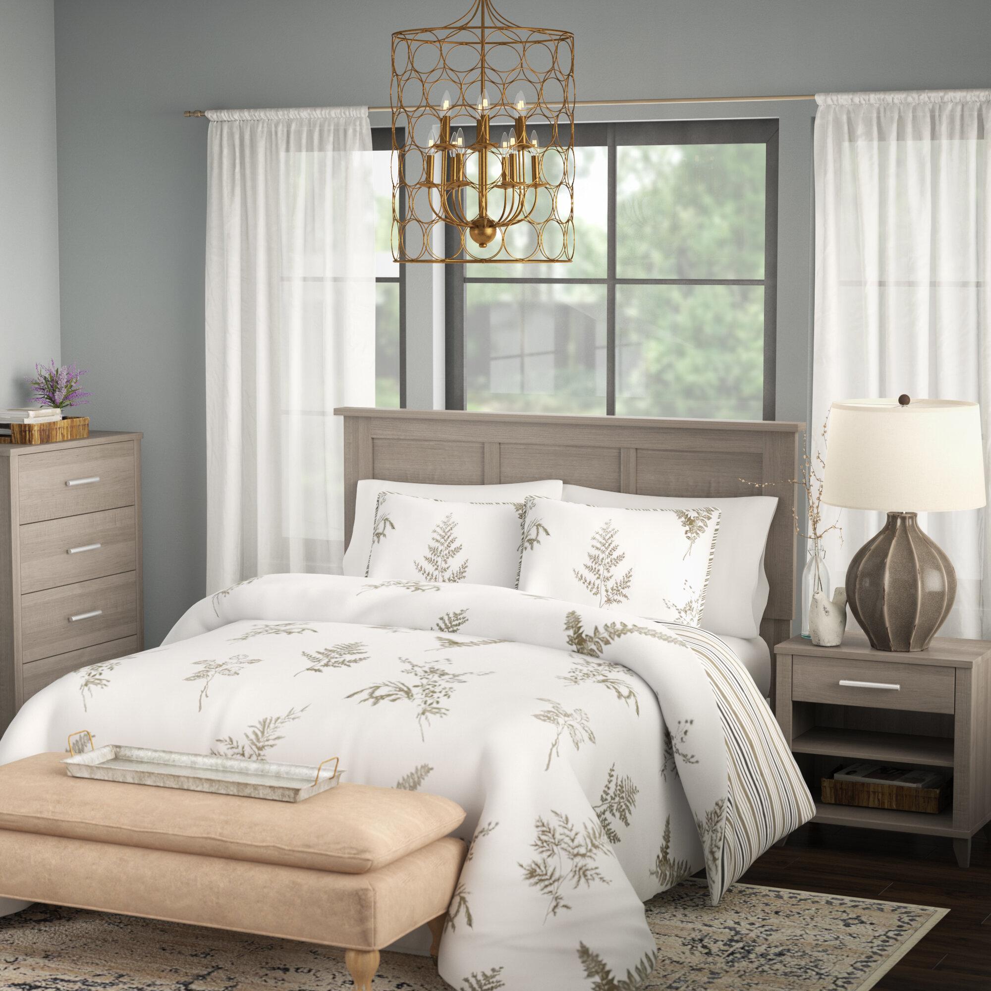 Laurel Foundry Modern Farmhouse Valencia Queen 3 Piece Bedroom Set U0026  Reviews | Wayfair