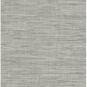 Peel and stick wallpaper you 39 ll love wayfair for Self stick grasscloth wallpaper