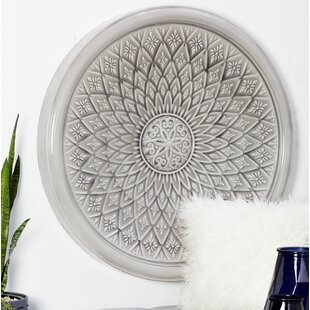 White Round Wall Decor Wayfair