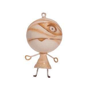 Halloween Mummy Ornament (Set of 2)