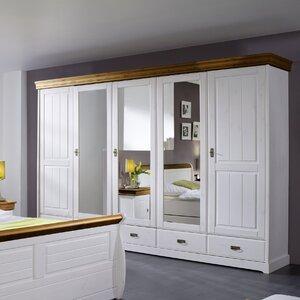 Drehtürenschrank Schlafzimmer, 217 cm H x 315 c..