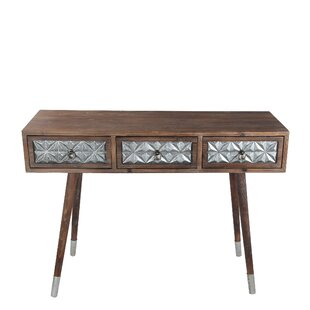 Palmer Wood Iron Console Table