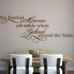 The Fondest Memories Wall Decal Part 67