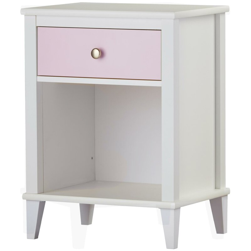 Monarch Hill Poppy 1 Drawer Nightstand