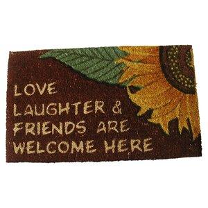 Love Laughter Doormat