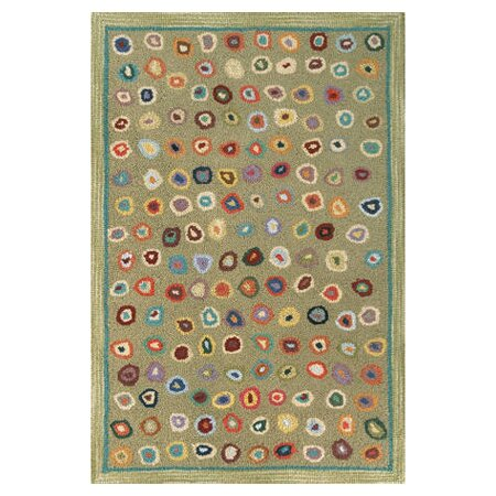 Dash And Albert Rugs Hooked Green Area Rug Reviews Wayfair