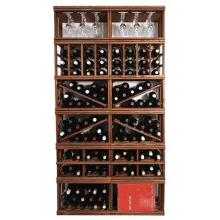 Allaire Floor Wine Bottle Rack