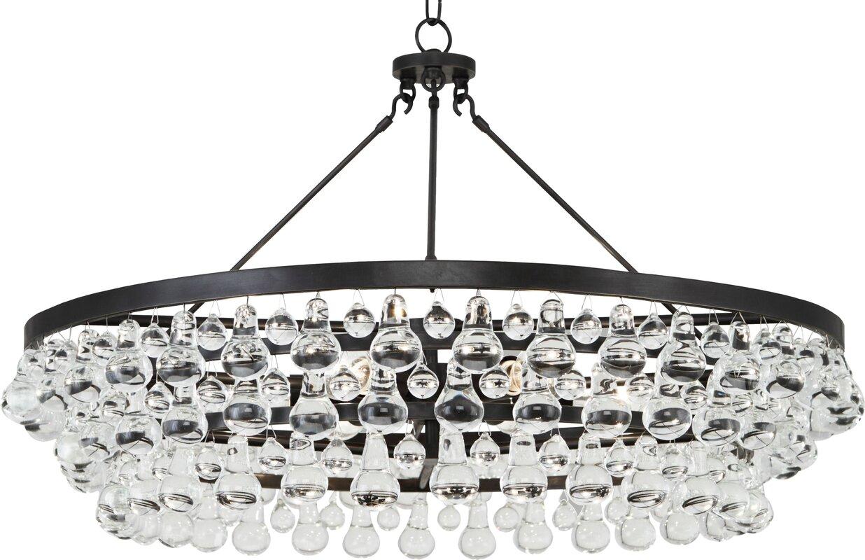 Robert abbey bling 6 light crystal chandelier reviews wayfair bling 6 light crystal chandelier arubaitofo Gallery