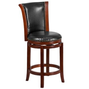 Asceanna 26 Swivel Bar Stool