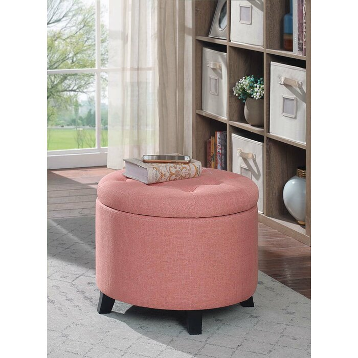 Outstanding Tufted Storage Ottoman Machost Co Dining Chair Design Ideas Machostcouk