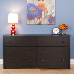 Yards 6 Drawer Double Dresser by Red Barrel Studio