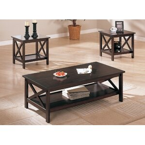 Ott 3 Piece Coffee Table Set