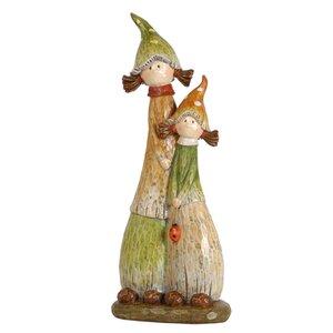 Mushroom Sisters Figurine