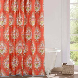 Kalani Cotton Single Shower Curtain
