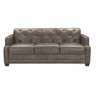Basting Leather Sleeper Sofa