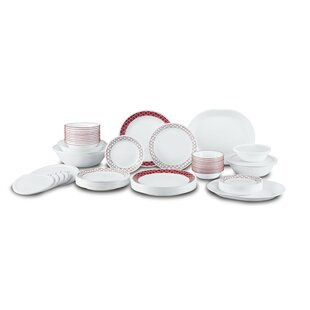 Crimson Trellis Living Ware 74 Piece Dinnerware Set Service for 12. by Corelle  sc 1 st  Wayfair & Corelle 76 Piece Set | Wayfair