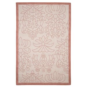 Botanical Garden Orange Indoor/Outdoor Area Rug