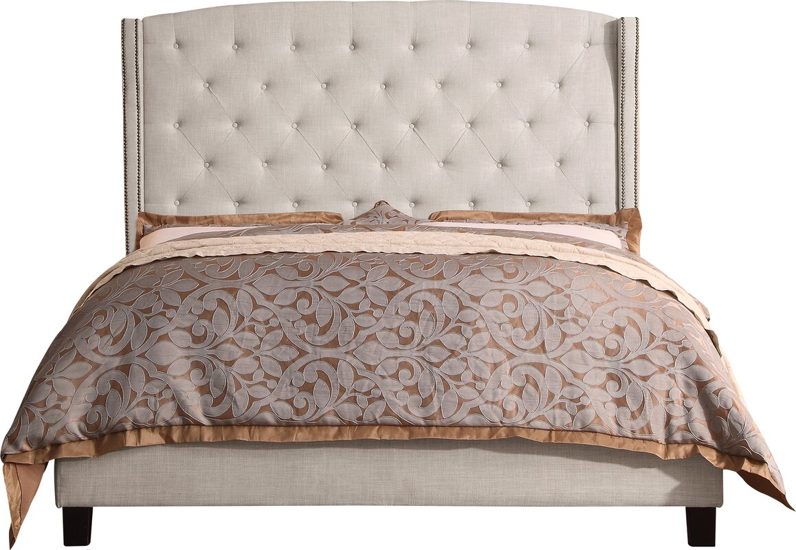Wayfair Upholstered Panel Bed: Willa Arlo Interiors Destiny Upholstered Panel Bed