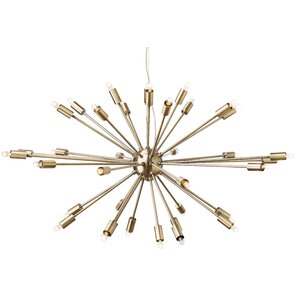 Blackman 36-Light Cluster Pendant