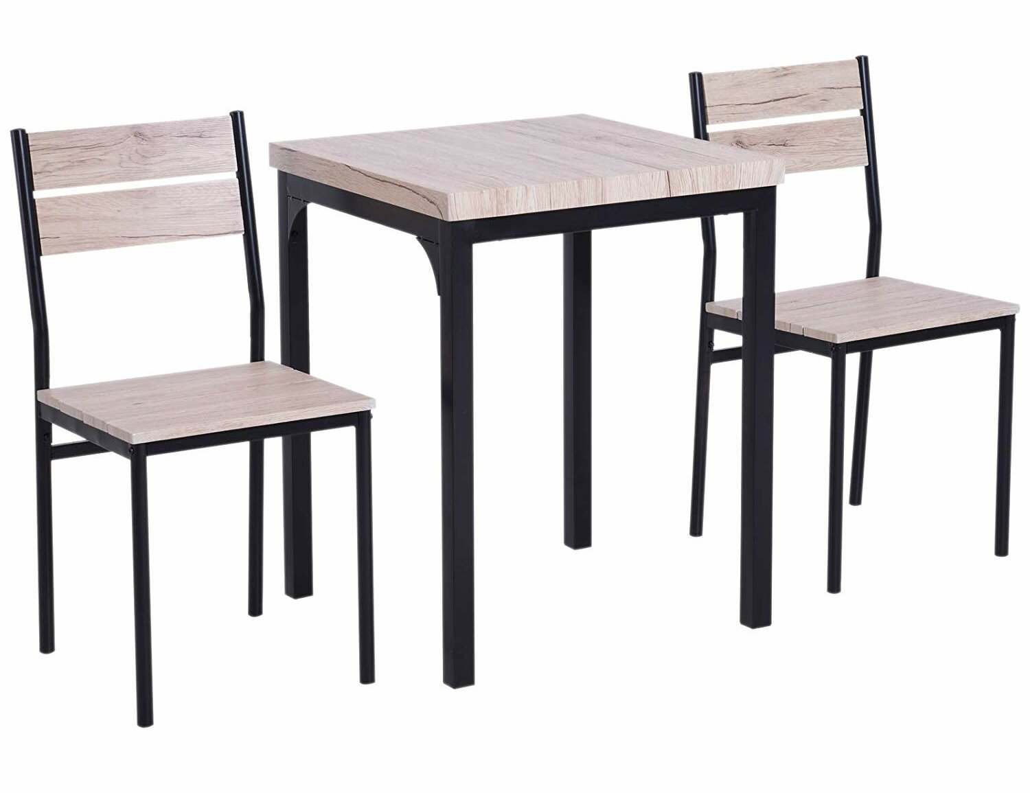 Merveilleux Staley Rustic Country 3 Piece Dining Set