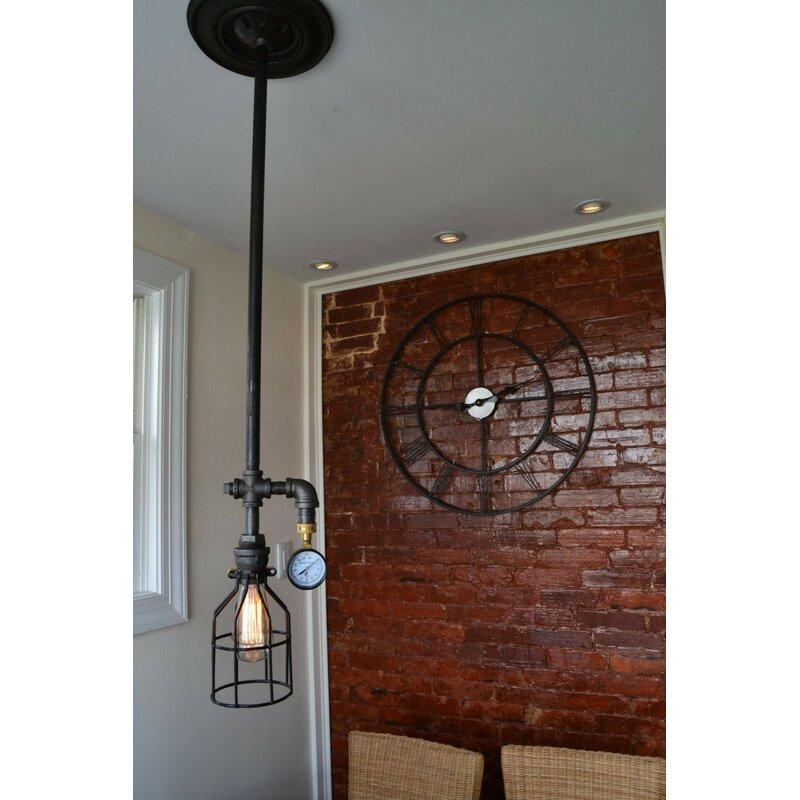 Foyer Light Switch: West Ninth Vintage Industrial 1-Light Foyer Pendant