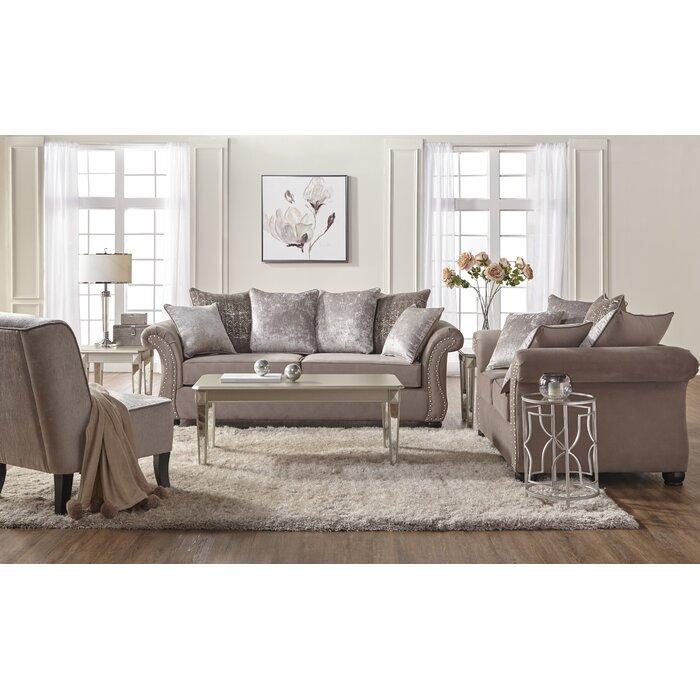 Alcott Hill Agnes 2 Piece Living Room Set & Reviews   Wayfair.ca