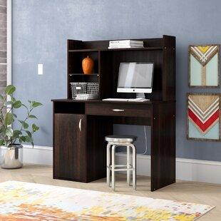 Everett Computer Desk With Hutch