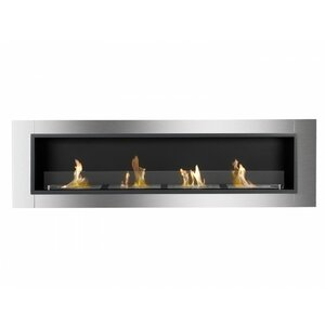 Accalia Wall Mounted Ethanol Fireplace