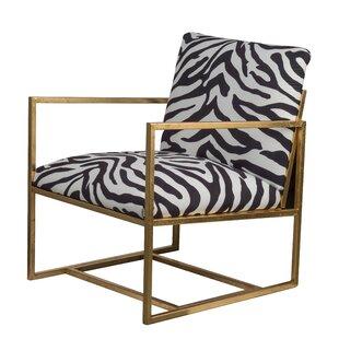 Zebra Print Accent Chair | Wayfair