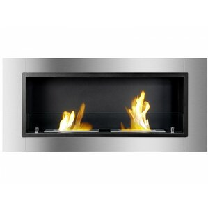 Lata Wall Mount Ethanol Fireplace by Ignis P..