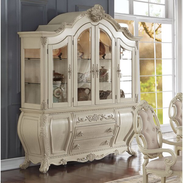 - Antique White Buffet And Hutch Wayfair