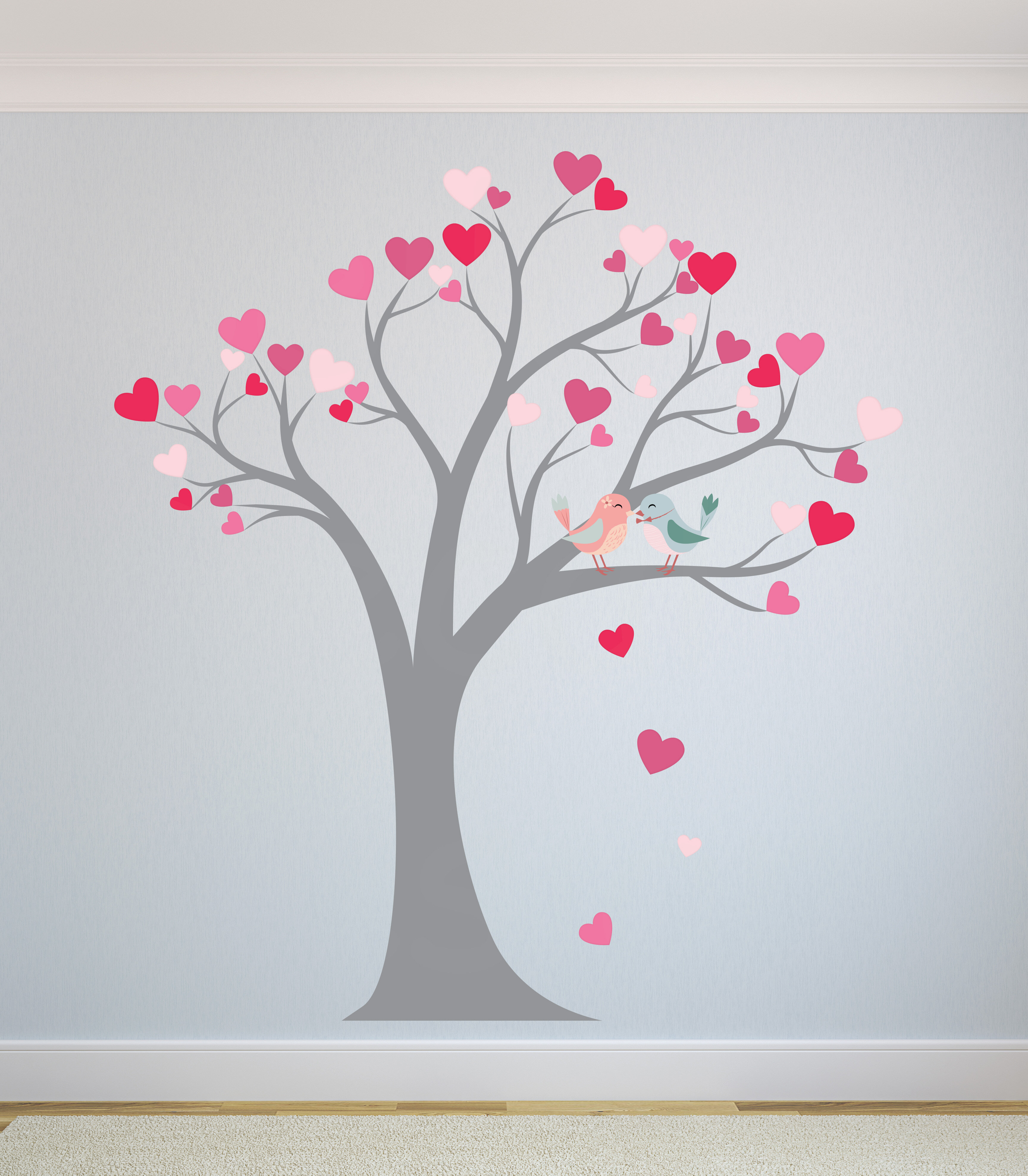 Zoomie Kids Heart Tree Nursery Wall Decal Wayfair