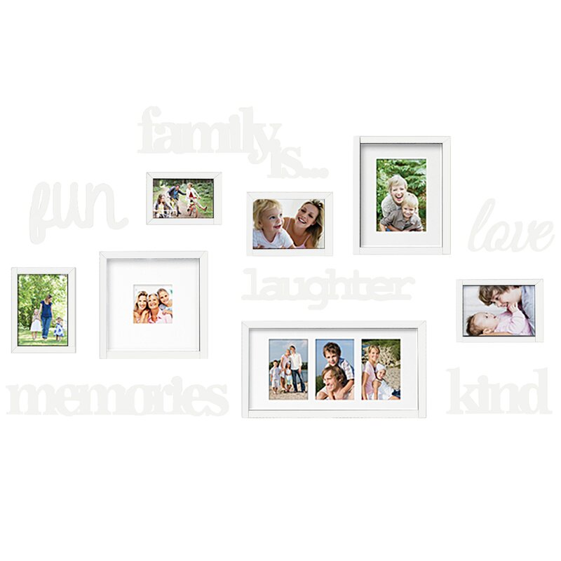 Nealy 13 Piece Collage Picture Frame Set