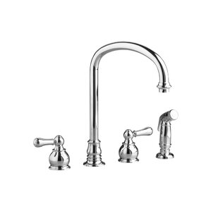 American Standard Hampton Kitchen Faucet with Side Spray