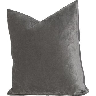 Modern Gray Silver Decorative Throw Pillows AllModern