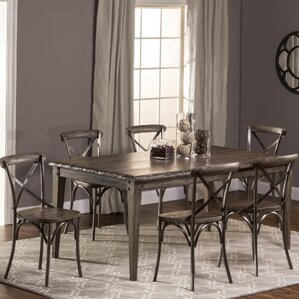Brickford 7 Piece Dining Set by Loon Peak
